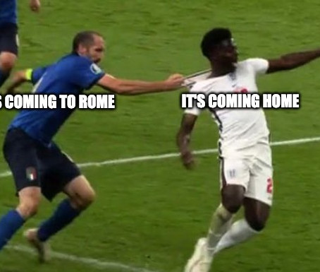 """Funny """"Football's Coming To Rome"""" Jokes And Memes"""