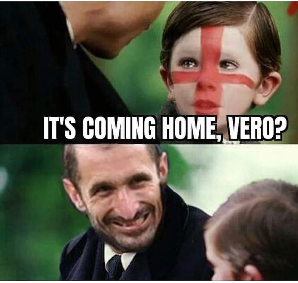 funny meme about It's Coming Home Football loss from Finding Neverland.