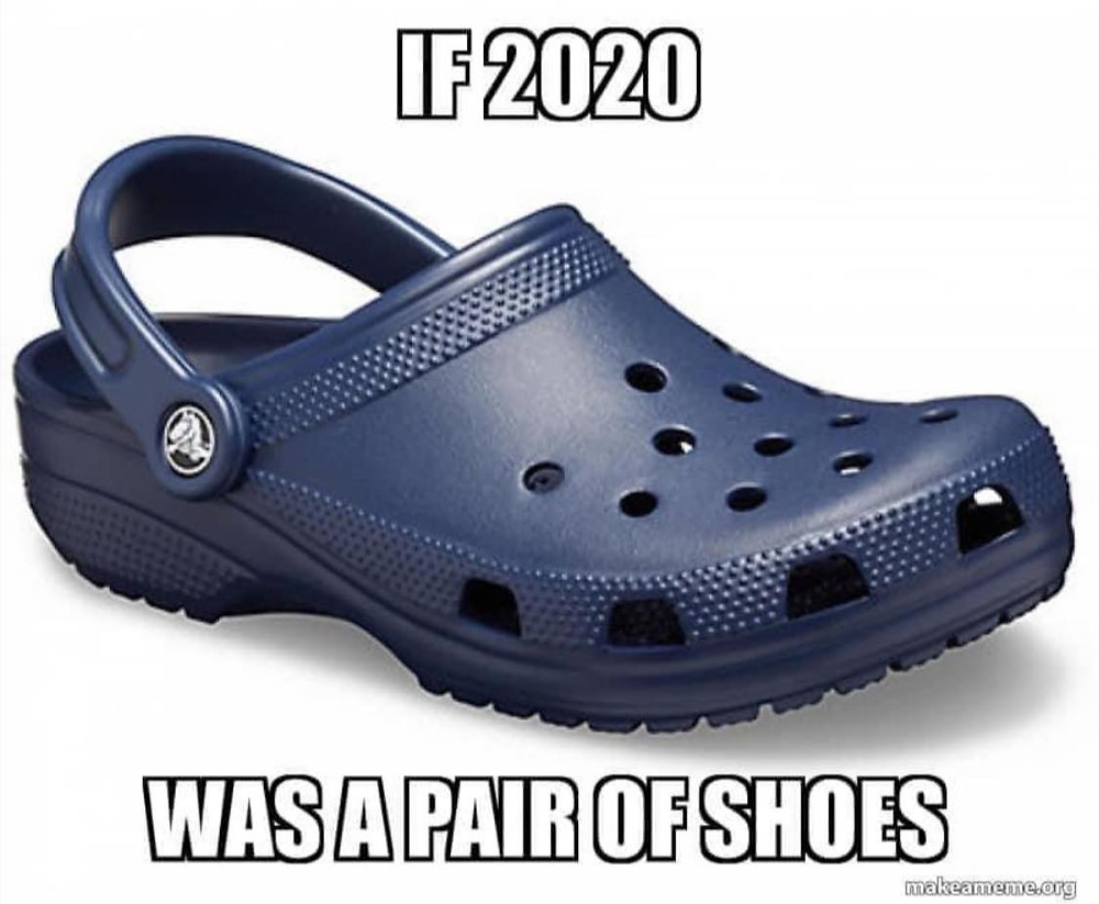If 2020 was a pair of shoes meme