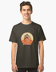 Keep Laughng Forever Retro monkey t-shirt