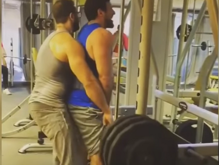 When Exercising At The Gym Goes Wrong
