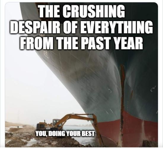Suez Canal 2020 Meme