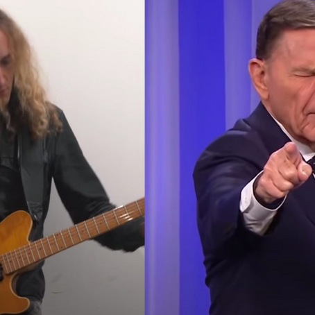 Pastor Is Transformed To A Heavy Metal Singer In Hilarious Video
