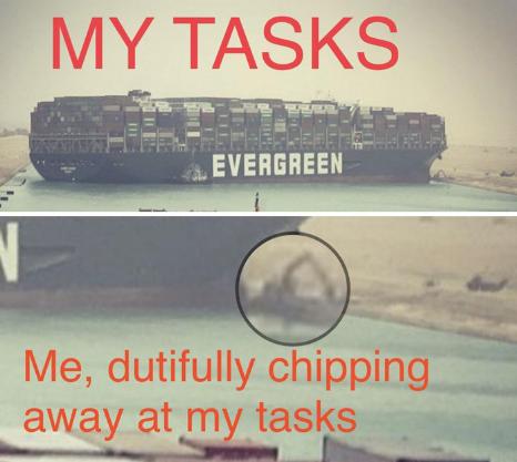 Suez Canal Tasks Meme
