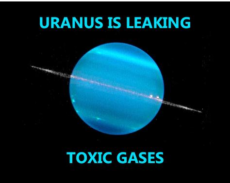 Funny Uranus Pun And Joke