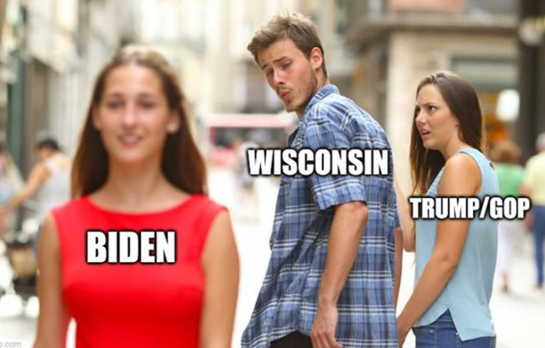 Wisconsin Election Meme