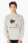 kiwi and kiwifruit sweatshirt