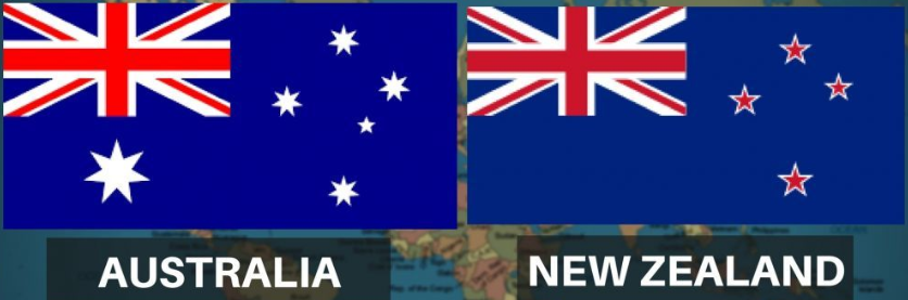 Difference Between New Zealand And Australia Flag
