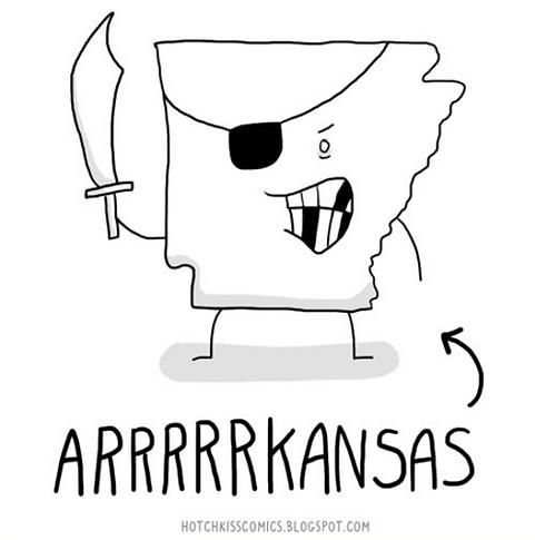 Arkansas Pirate Meme