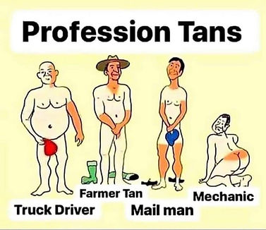 Funny Job Joke About Different Profession Tans