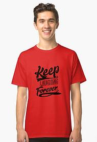 classic t-shirt, positivity