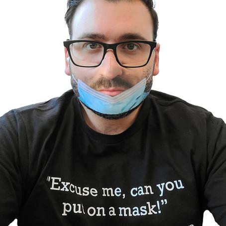 Man Trolls Strangers With Fake Mask