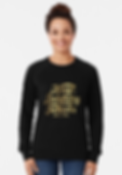 Ladies Keep Laughig Forever Glitz Sweatshirt