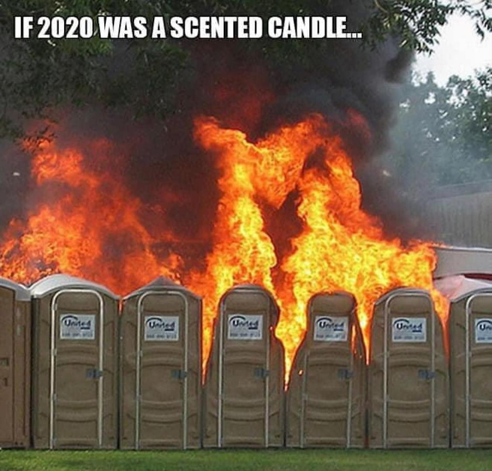 If 2020 was a scented candle meme