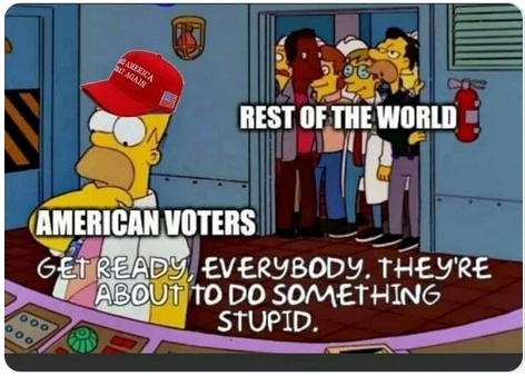 Simpsons Election Meme