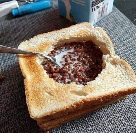 Follow Me For More Recipes, Cereal In Toast