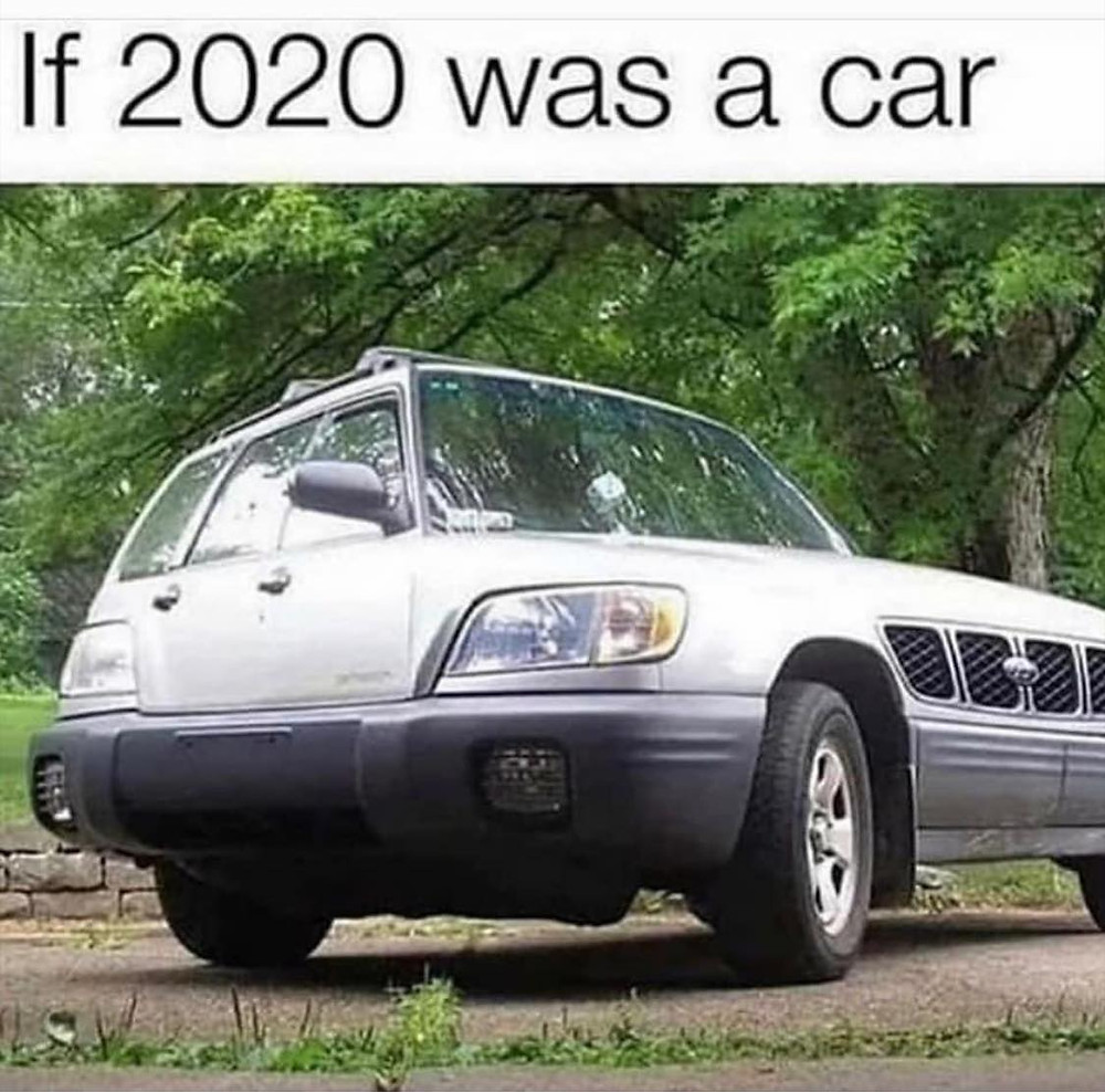 If 2020 Was A Car