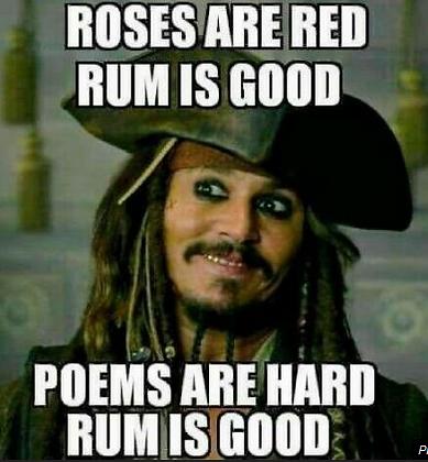 Jack Sparrow Rum - Pirates Of The Carribean MemeMeme