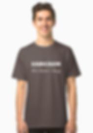 Sarcasm dark grey t-shirt