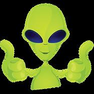 Funny Space Alien