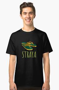 Classic straya thongs t-shirt