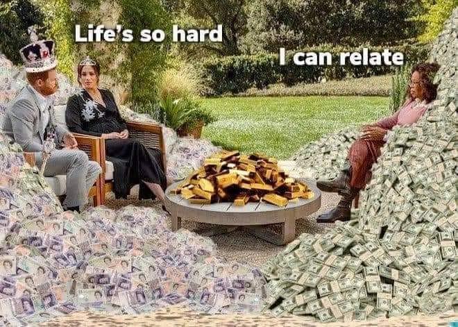 Life's So Hard Oprah Interview Meme