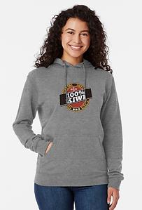 100% kiwi hoodie