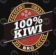 100% kiwi design (double brown)