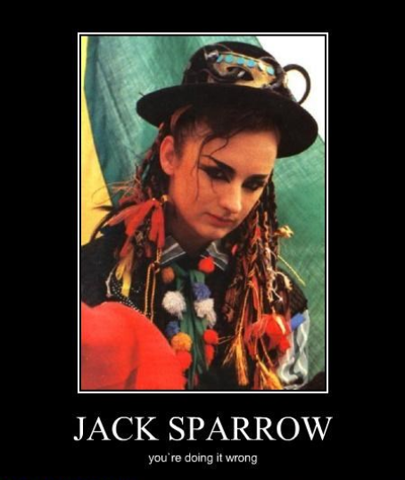 Boy George, Pirates Of The Carribean Meme