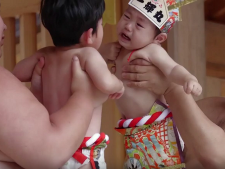 Japan Holds Competition To Make Babies Cry