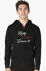 Laughing Monkey Zipup hoodie