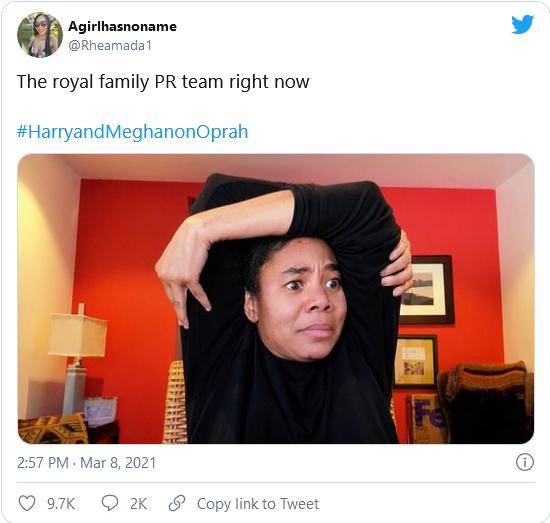 Royal PR team meme