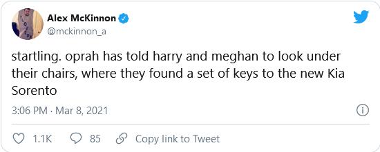 Harry and Meghan free kia car meme