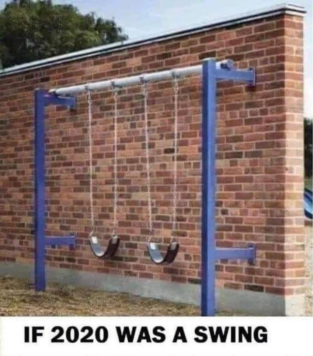 If 2020 was a swing meme