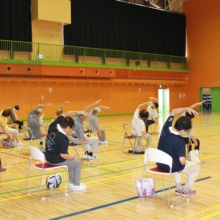 健康運動講座 上士幌町 2020/07/27