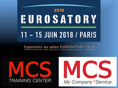 La société MCS de Christophe GURY parmis les exposants de l'EUROSATORY 2018.