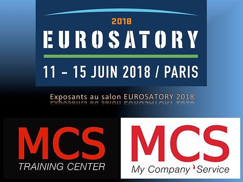 La société MCS de Christope GURY exposants à l'EUROSATORY 2018