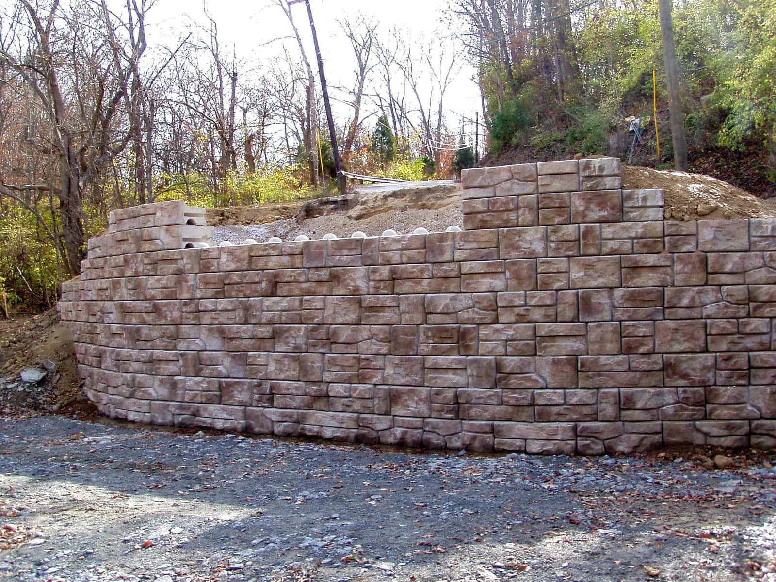 гравитационная подпорная стена Штарком 4