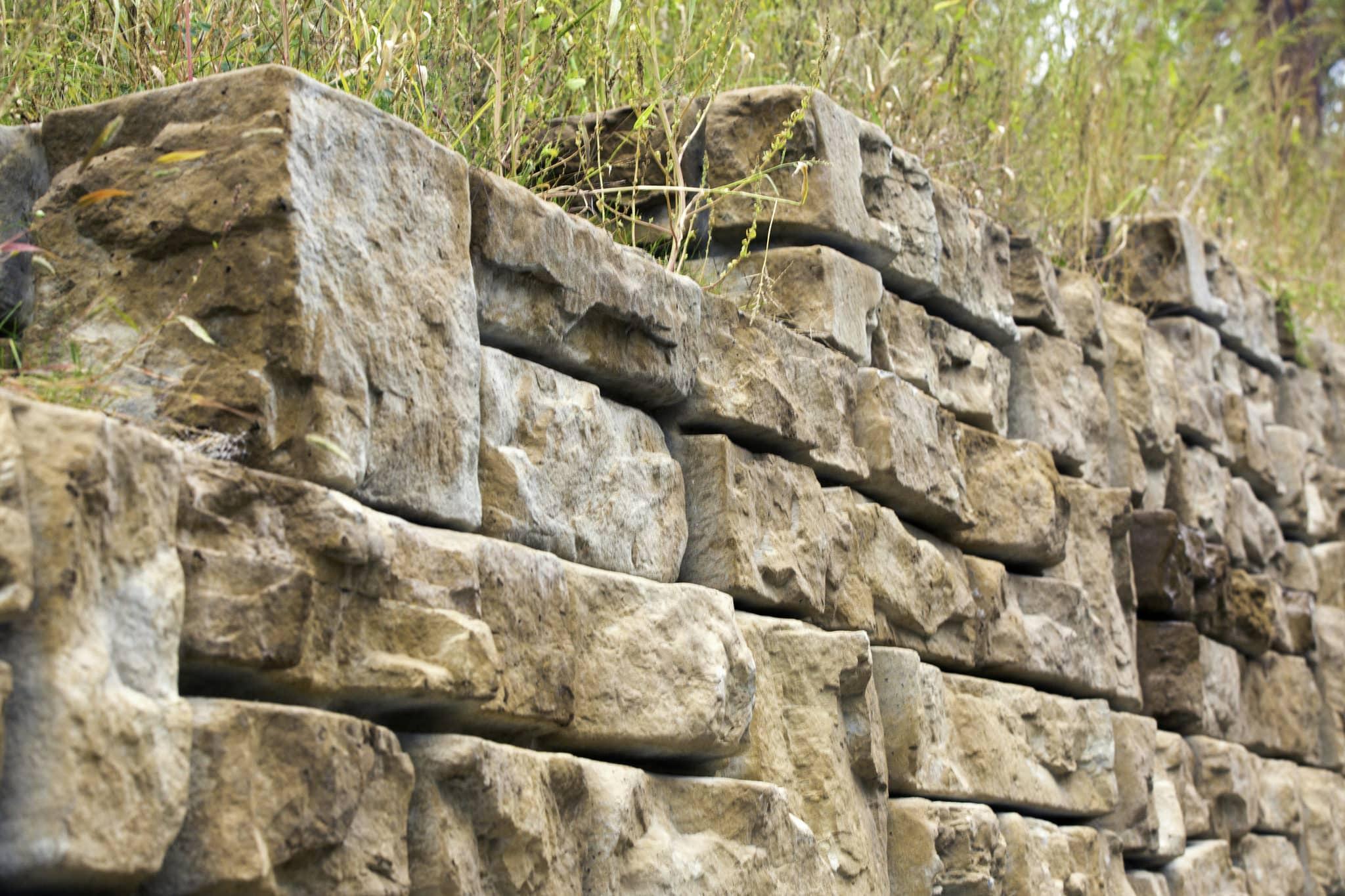 гравитационная подпорная стена Штарком 10