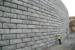 армогрунтовая стена 1