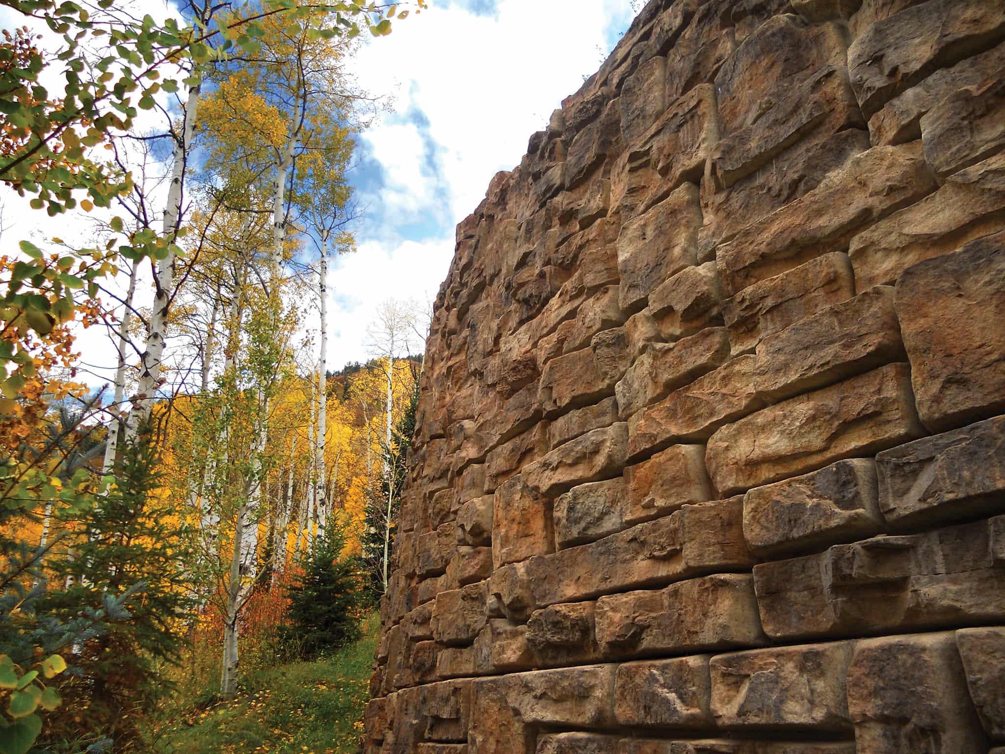 гравитационная подпорная стена Штарком 5