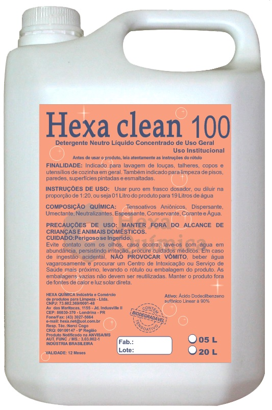 HEXA CLEAN 100
