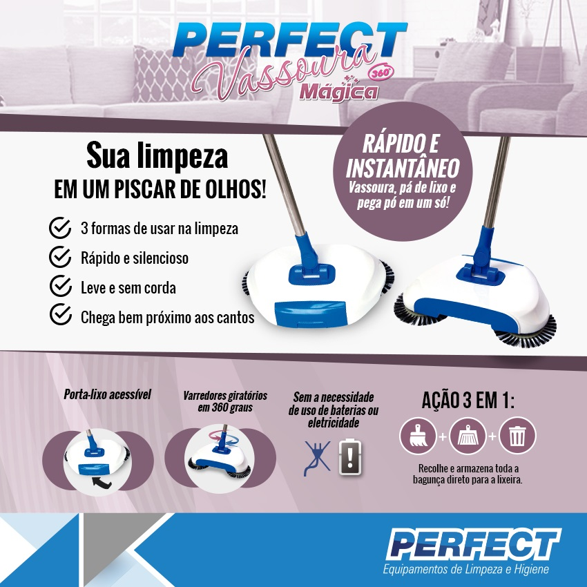 VASSOURA MAGICA PERFECT