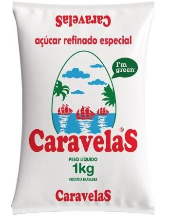 Açucar Caravelas 1 kg