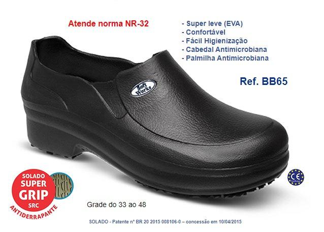 Sapato Unisex Soft Works Branco ou Preto