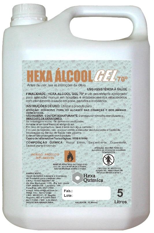 HEXA ALCOOL GEL 70