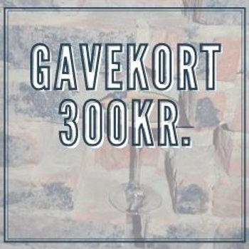 Gavekort 300