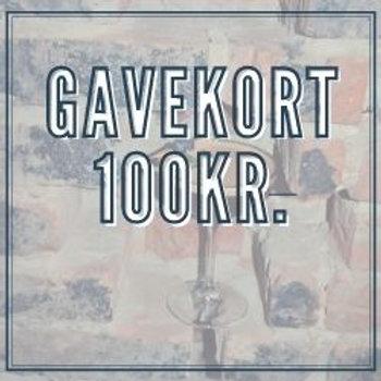 Gavekort 100kr.