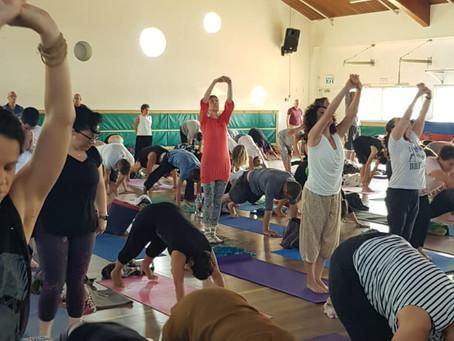 סדנה לציון 25 שנה למסורת הבריגהו יוגה בישראל
