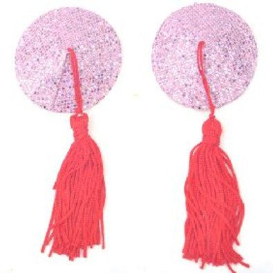 Sparkling Pink Nipple Tassels
